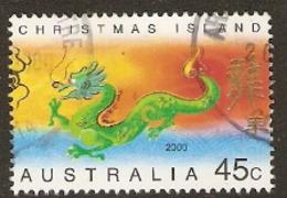 Christmas Islands  2000  SG 477   Year Of The Dragon    Fine Used - Christmas Island