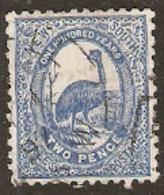 New South Wales   1888 SG  254c 2d Fine Used - Oblitérés