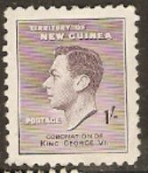 New Guinea  1937    SG  211  Coronation  Mounted Mint - Papua-Neuguinea
