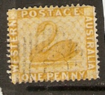 Western Australia   1882  SG  76  1d Fine Used - Oblitérés
