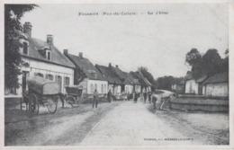 CPA Fosseux - Rue D'Arras (avec Jolie Animation) - Autres Communes