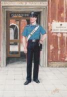 Postcard Carabinier Summer Uniform Present Day [ Police / Carabiniere / Gendarmerie Interest ] My Ref  B23710 - Police - Gendarmerie