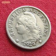 Argentina 5 Centavos 1929 KM# 35 *V2  Argentine - Argentine