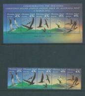 Christmas Island 1993 Birds Strip Of 5 & Miniature Sheet MNH - Christmas Island