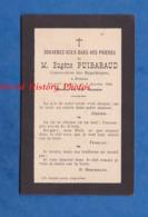 Faire Part De Décés - JONZAC - Monsieur Eugène PUIBARAUD Conservateur Des Hypothèques - 2 Janvier 1900 - Décès