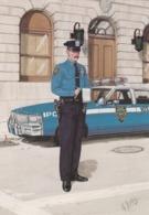 Postcard Police Officer New York City Police Department [ Police / Carabiniere / Gendarmerie Interest ] My Ref  B23711 - Police - Gendarmerie