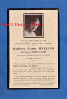 Faire Part De Décés Avec Photo - PARIS - Henriette DEVARS Du MAYNE épouse De Roger HELLIER - 10 Juin 1931 - Décès