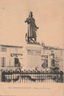 Gard : AIGUES-MORTES : Statue De St-louis ( Précurseur ) - Aigues-Mortes