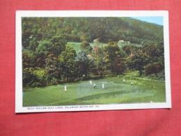 Wolf Hollow Golf Links Delaware Water Gap  Pa.  Ref 3619 - Golf