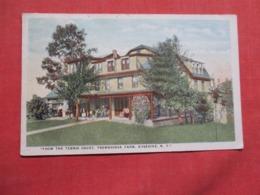 From The Tennis Court  Trowbridge Farm  Kyserike  New York .  Ref 3619 - NY - New York