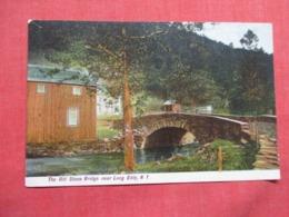 The Old Stone Bridge  Near Long Eddy   New York .  Ref 3619 - NY - New York