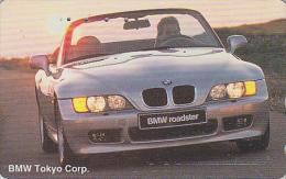 Télécarte Japon / 110-016 - VOITURE - BMW - ROADSTER -  CAR Japan Phonecard - AUTO Telefonkarte - COCHE / Germany -33517 - Voitures