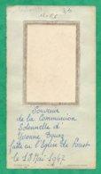 Forest-en-Cambrésis (59) Yvonne Douez Communion Solennelle 2scans 18-05-1947 12 X 6,6 Cm - Images Religieuses