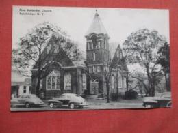 First Methodist Church  Bainbridge     New York .  Ref 3619 - NY - New York