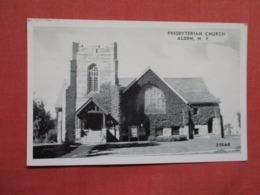 Presbyterian Church  Alden     New York .  Ref 3619 - NY - New York
