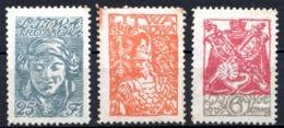 LITUANIE CENTRALE - (Occupation Polonaise) - 1920 - N° 11, 12 Et 15 - (Lot De 3 Valeurs Différentes) - Lithuania