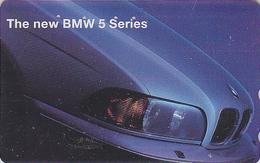 Télécarte Japon / 110-011 - VOITURE - BMW 5 Series - CAR Japan Phonecard - AUTO Telefonkarte - COCHE / Germany - 3355 - Automobili