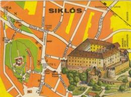 Postcard Siklos Hungary Map My Ref  B23712 - Hungary