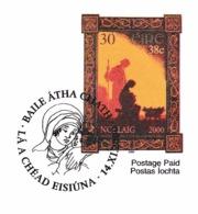 IRELAND 2000 Christmas: Promotional Card CANCELLED - 1949-... Republic Of Ireland