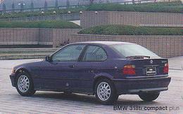 Télécarte Japon / 110-011 - VOITURE - BMW 318 TI COMPACT - CAR Japan Phonecard - AUTO Telefonkarte - COCHE Germany  3358 - Auto's
