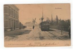 Zandhoven  Santhoven , Statieplein (stoomtram) 1905 - Zandhoven