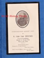 Faire Part De Décés Avec Photo - GRANDCHAMP - Abbé Emile BRISEDOU Décédé Le 14 Juin 1916 - Décès