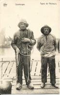DUINBERGEN - Types De Pêcheurs - Oblitération De 1910 - Knokke