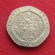 Gibraltar 20 Pence 1997 AA KM# 16  Gibilterra - Gibraltar
