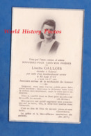 Faire Part De Décés Avec Photo - ECLARON (Haute Marne) - Linette GALLOIS Décédée Lors D'un Bombardement - Aout 1944 WW2 - Décès