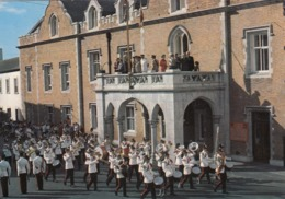 Postcard Gibraltar Changing Of The Guard At The Convent [ Military Band ] By Rock Photographic My Ref  B23714 - Gibraltar