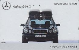 Télécarte Japon / 110-011 - VOITURE - MERCEDES - CAR Japan Phonecard / Germany - AUTO TK - 3358 - Voitures