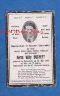 Faire Part De Décés Avec Photo - BASSE YUTZ ( Moselle ) - Willy BUCHERT Décédé Le 13 Mars 1941 - Niederjeutz Thionville - Décès