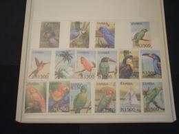 ZAMBIA - 2000 UCCELLI 8 + 8  VALORI - NUOVI(++) - Zambia (1965-...)