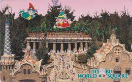 TC Japon / 110-141436 - Série Site TOBU WORLD SQUARE - ESPAGNE - SPAIN - PARC GÜELL - Japan Phonecard Related Series - Japon