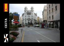 Ceuta City Street View North Africa New Postcard - Ceuta