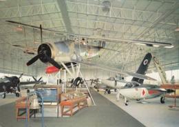 Postcard Swordfish Aircraft Exhibit At The Fleet Air Arm Museum Yeovilton Military Aviation / RAF Int My Ref  B23715 - Museum