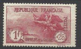 France N°231  Orphelins De Guerre 1F + 25c La Marseillaise  Neuf * *  TB- MNH VF  Soldé à  Moins De 15 % ! ! ! - Neufs