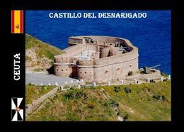 Ceuta City North Africa Desnarigado Castle New Postcard - Ceuta