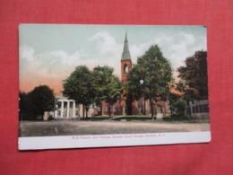 M E Church County Court House Goshen   New York .  Ref 3619 - NY - New York