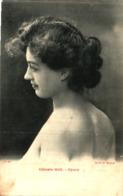 Artiste Femme 1900 - Céleste Gril, Opéra Cachet Et Timbre Taxe 10 Cts - Cabaret
