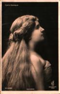 Artiste Femme 1900 - Guionie (opéra Comique - Cabarets