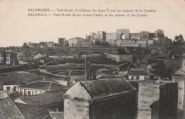 ***   SALONIQUE  Yedi Koulé  - écrite TTB - Grecia