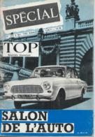 TOP REALITES JEUNESSE N° 255 1963 Salon De L'auto - Informations Générales