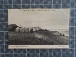 11.319) Portugal Figueira Da Foz Praia De Banhos E Forte Ed. Papelaria Lobo - Coimbra