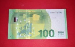 FRANCE 100 EURO - U002C2 Série Europa - Serial Number: UB0024151493 - UNC NEUF - 100 Euro