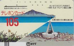 Télécarte Ancienne Japon / NTT 430-003 - 105 U - Japan Front Bar Phonecard - Balken Telefonkarte - Giappone