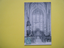 CONCHES EN OUCHE. L'Eglise Sainte Foy. La Nef. - Conches-en-Ouche