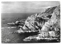 Cpsm 29 La Bretagne (Finistère) Pointe De Brezellec (Côté Ouest) - Cléden-Cap-Sizun - Editions Jean - Cléden-Cap-Sizun
