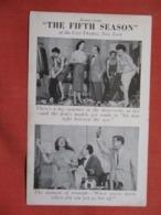 The Fifth Season   Ref 3619 - Theatre