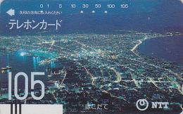 Télécarte Ancienne Japon / NTT 430-009 - HAKODATE - JAPAN Front Bar Phonecard / TBE - Balken Telefonkarte - Japon
